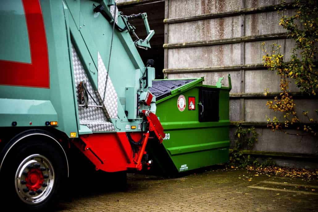 skraldevogn_og_container